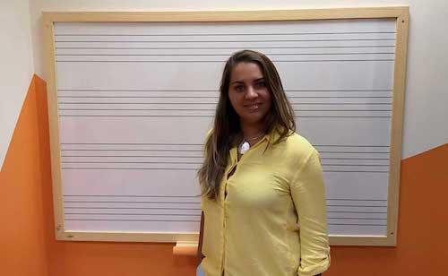Profesora de clases de Canto en Marbella Music School
