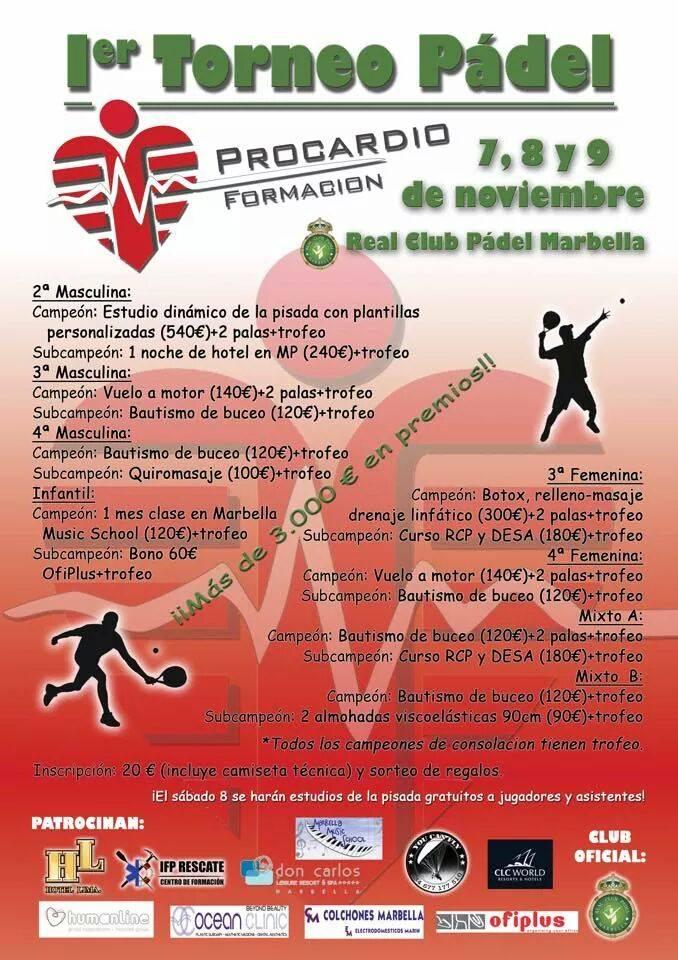 Torneo de Padel Procardio Formación