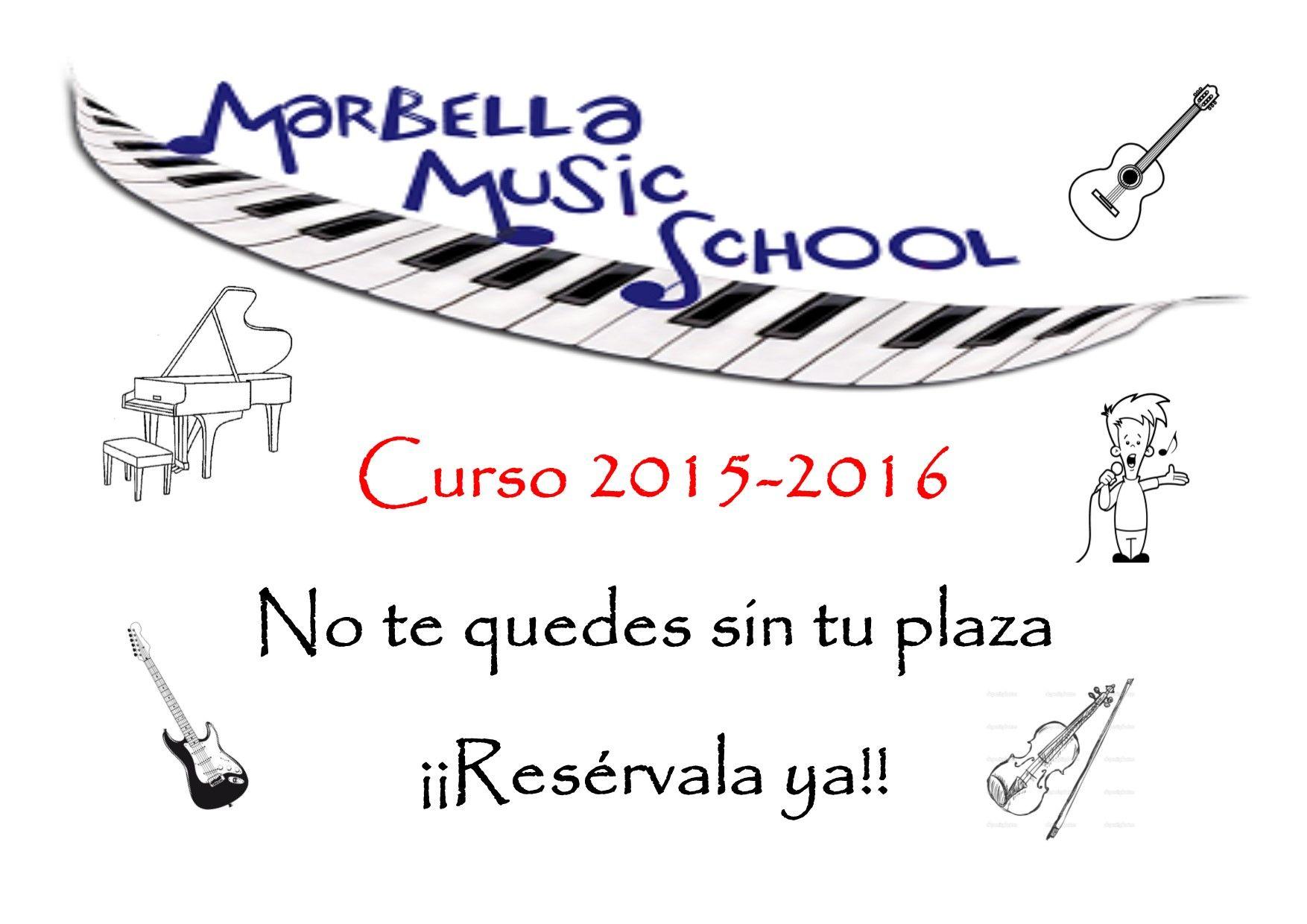 Reserva ya tu plaza para el curso 2015/2016