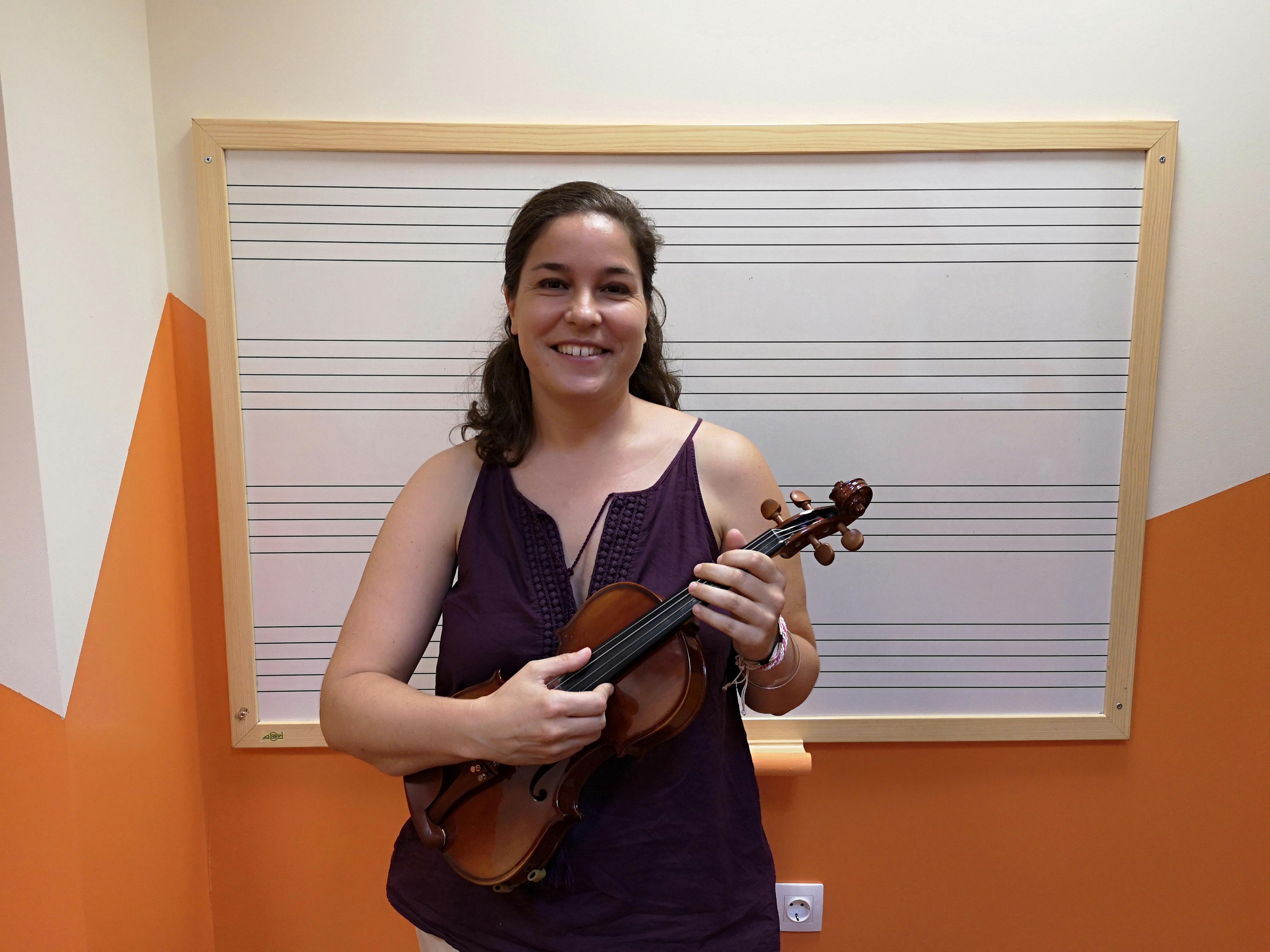 Profesora de Violín y Viola en Marbella Music School
