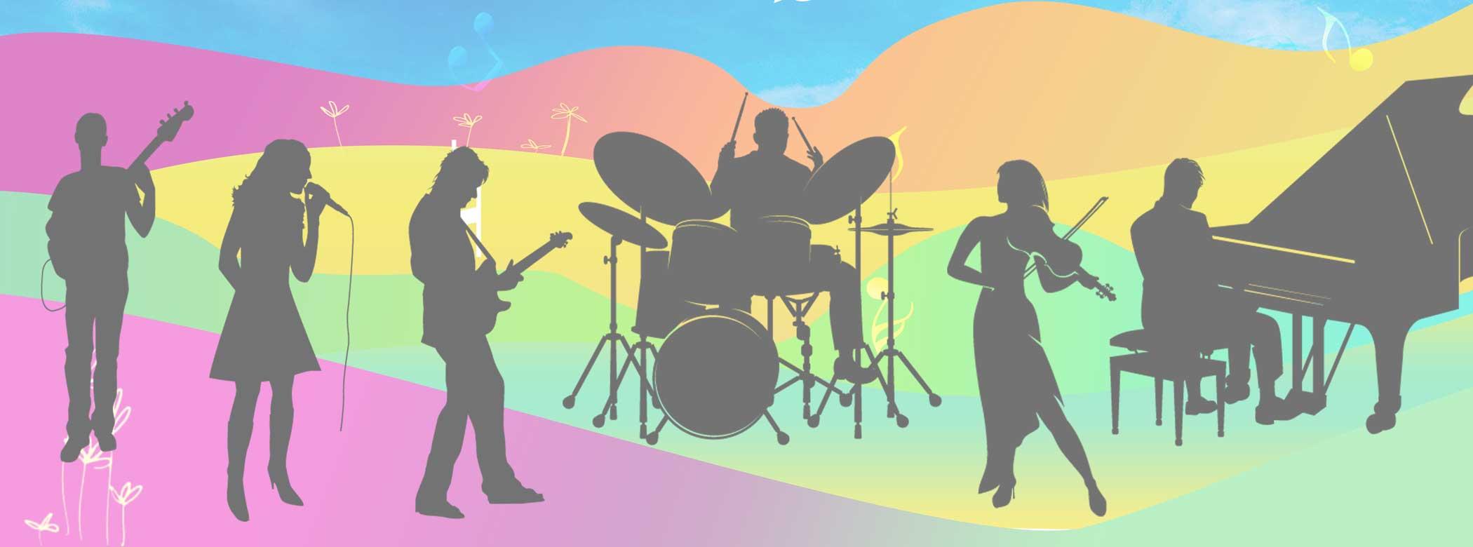 Slider de agrupaciones Musicales
