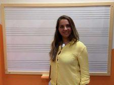 Sonia García, profesora de Canto en Marbella Music School